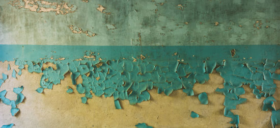 Peinture au plomb immeuble